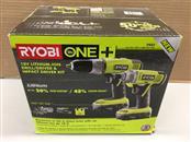 RYOBI P882 ONE+ 18-Volt Cordless Drill/Driver & Impact Driver Kit
